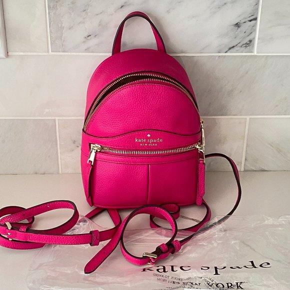 Kate Spade karina mini convertible backpack New